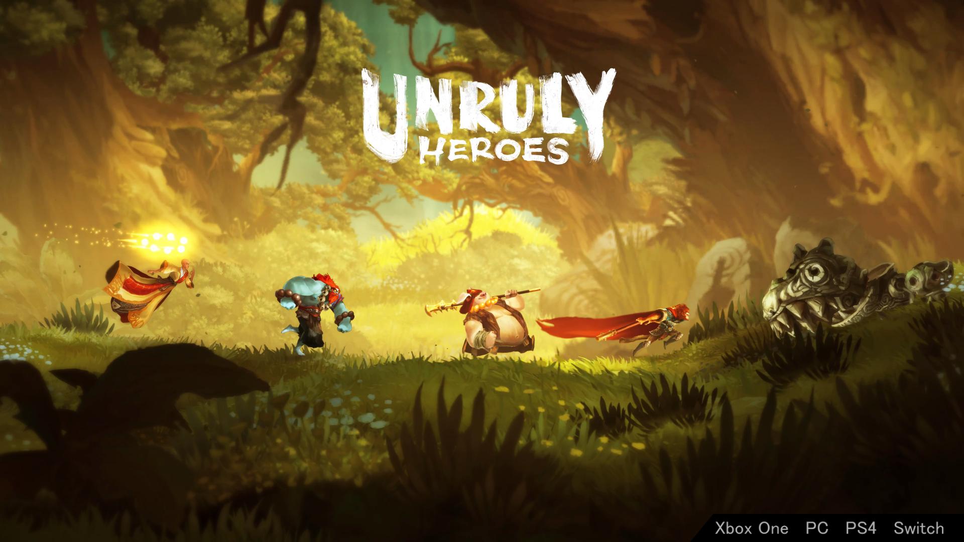 《Unruly Heroes》猴哥还是那么帅
