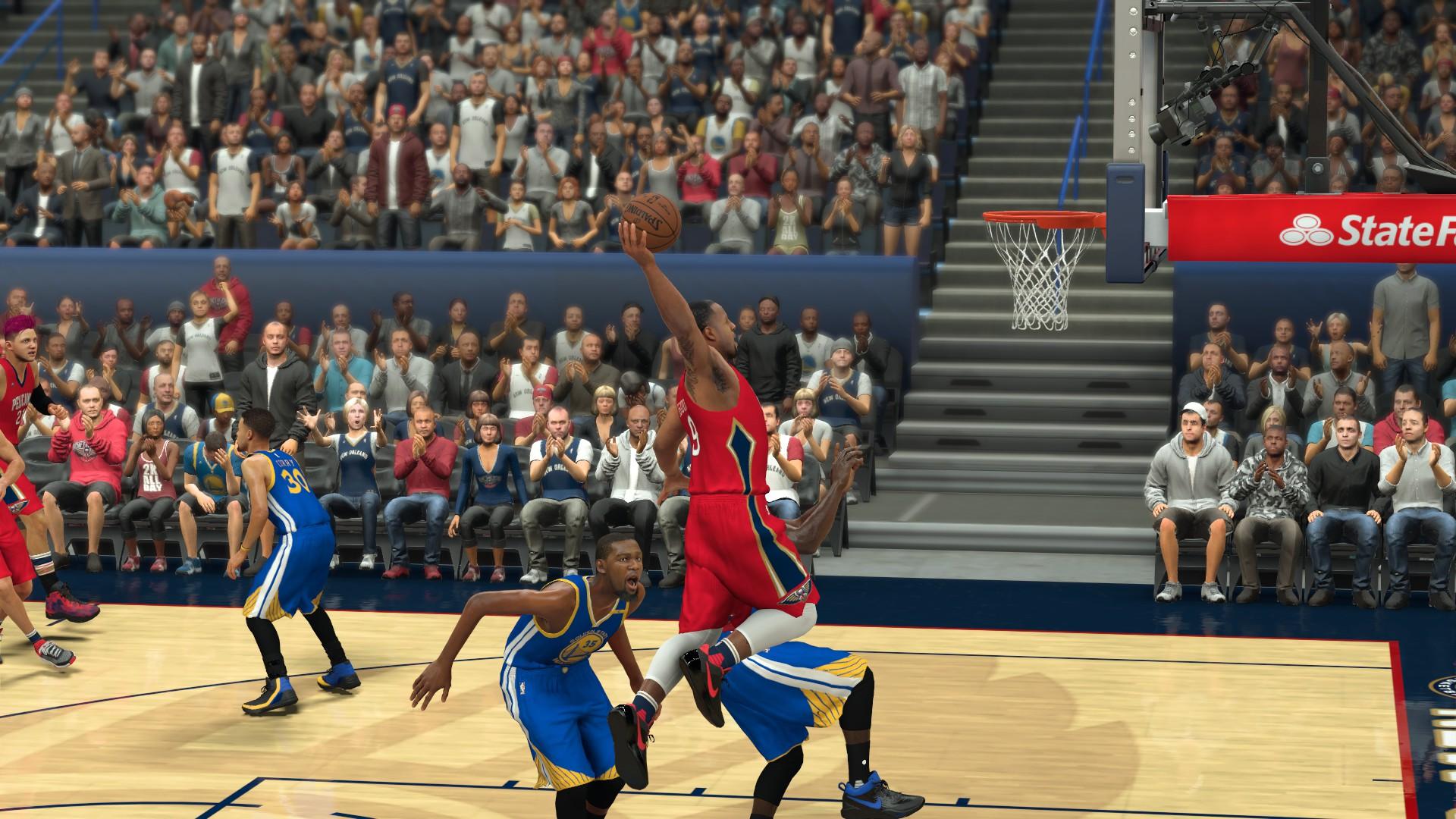 《NBA 2K17》NBA球迷的狂欢节2