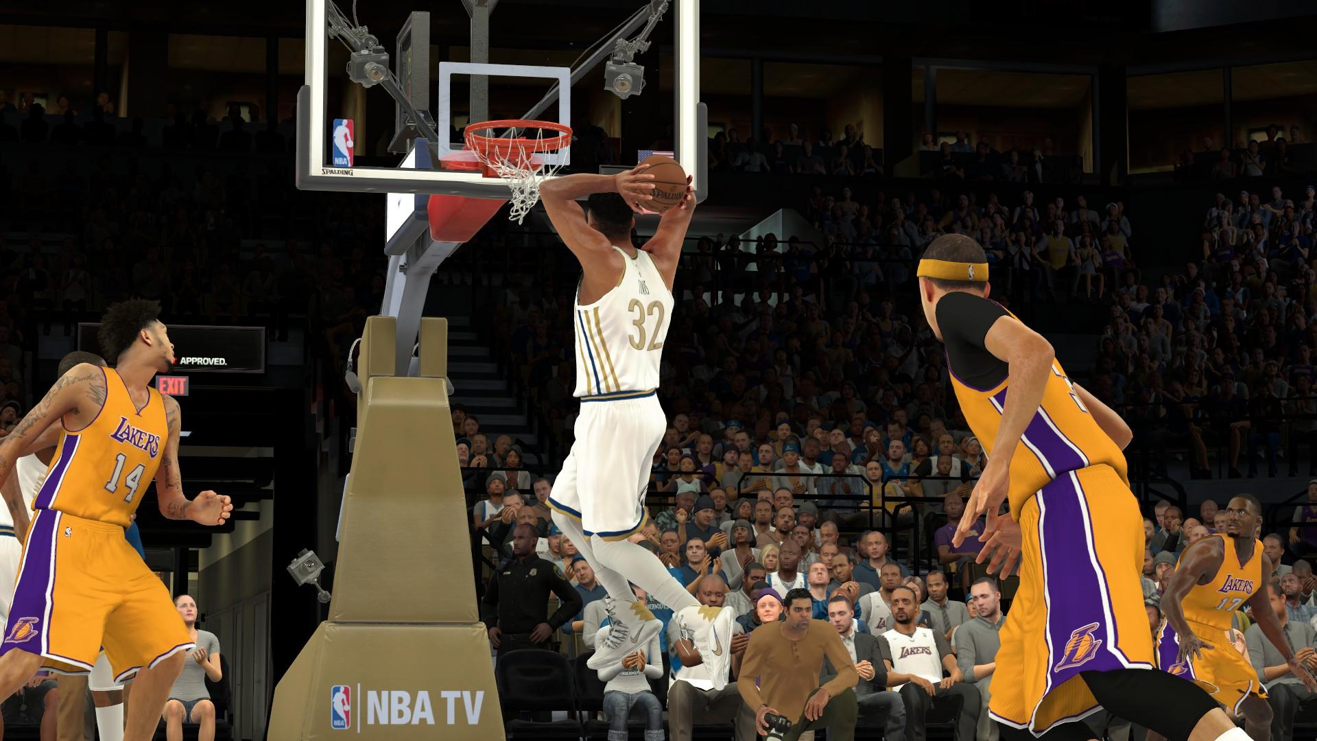 《NBA 2K17》NBA球迷的狂欢节1