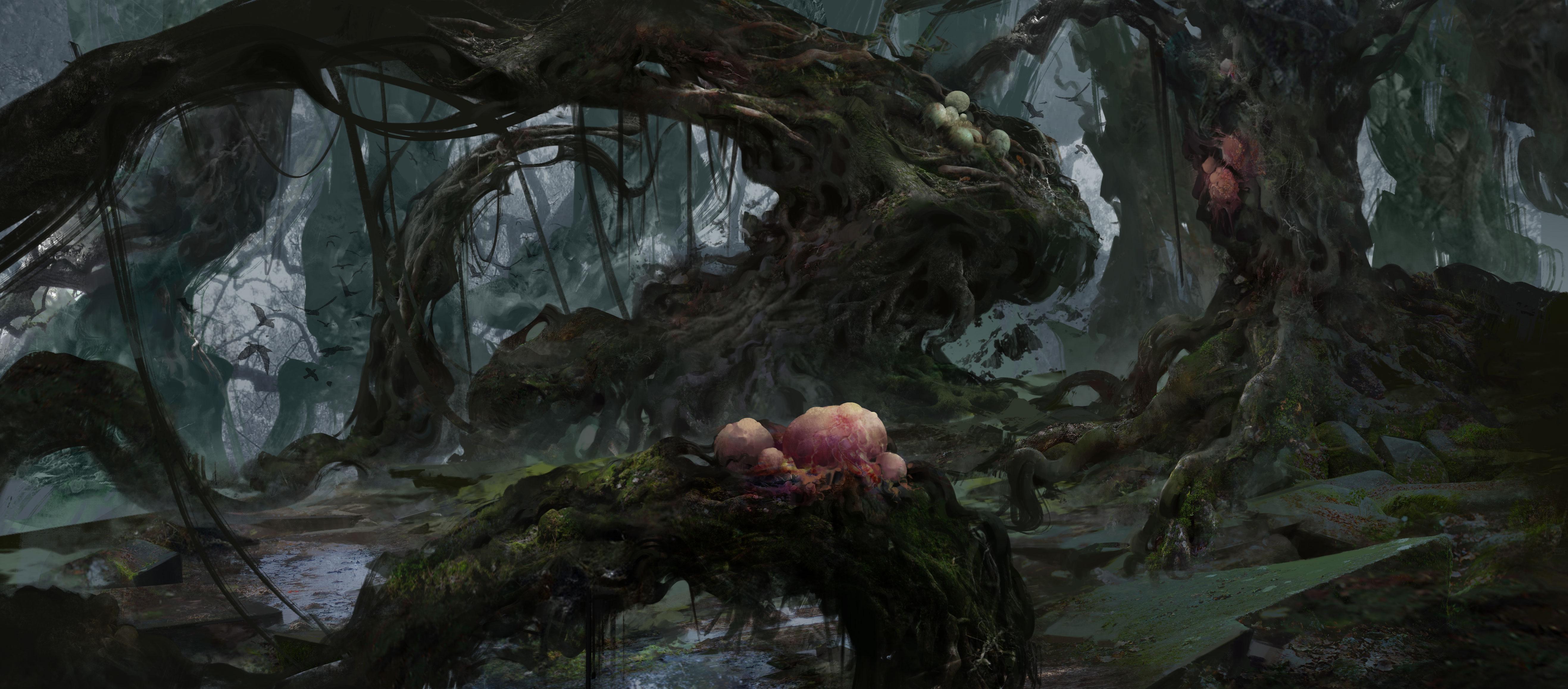 【黑暗森林系列】步骤图 随后有8个系列更新图片