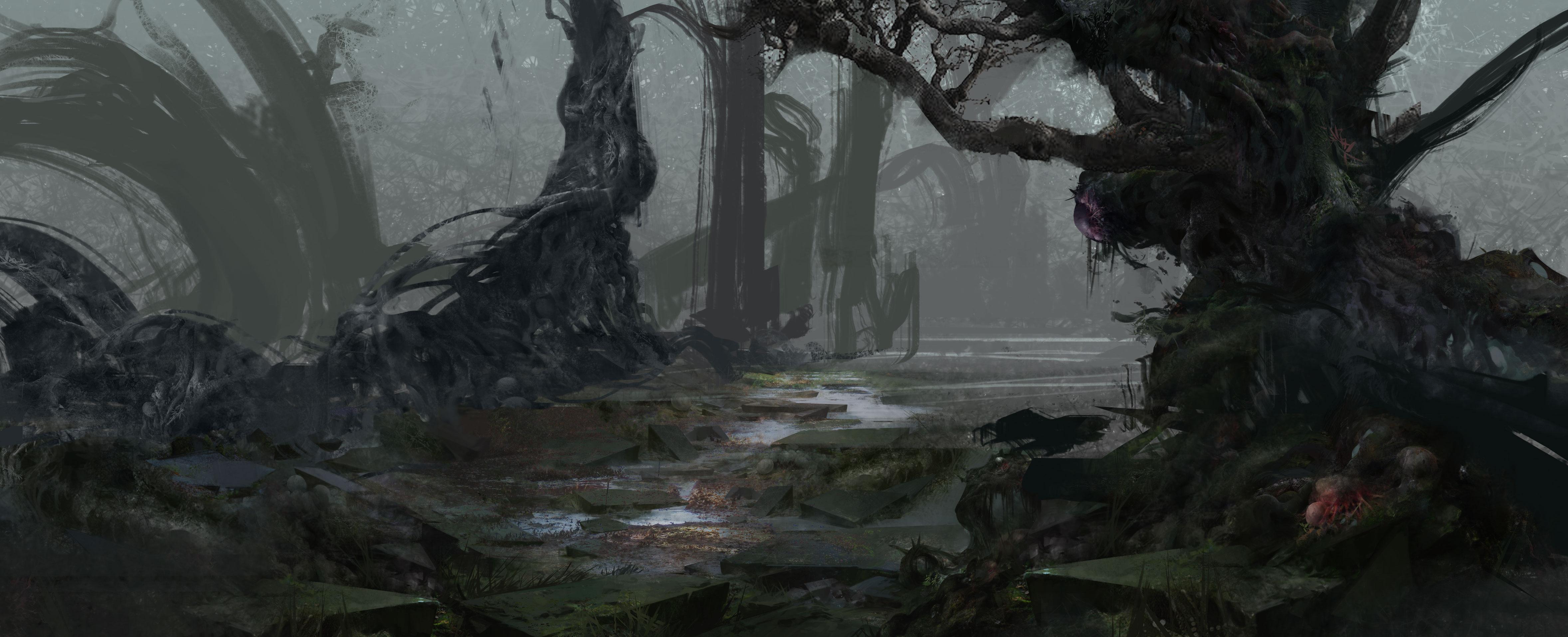 【黑暗森林-迷雾恐怖】步骤图