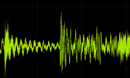 Houdini中使用音频驱动几何体变换实现信号处理