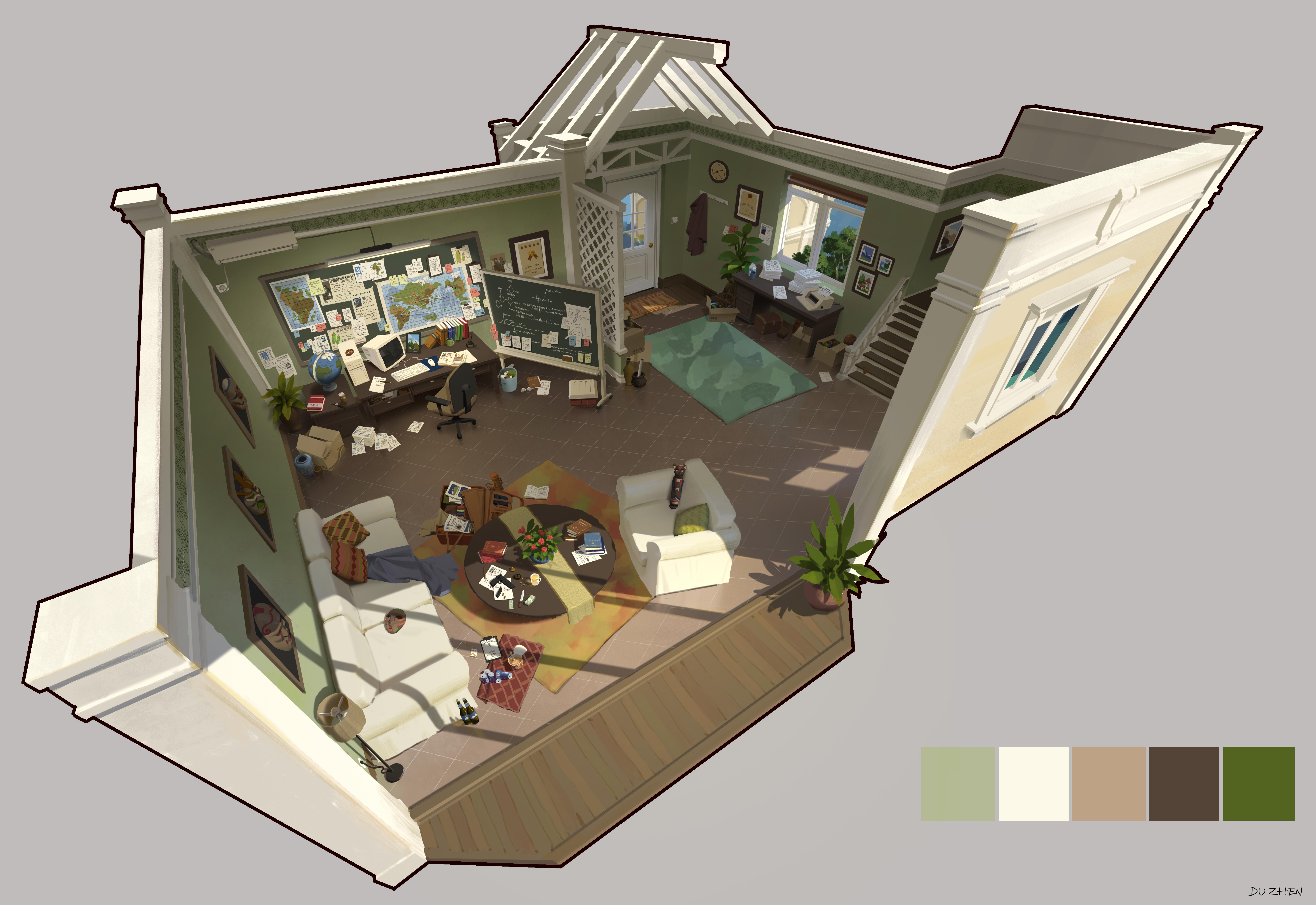 杜震-建筑室内解析设计-探险家室内