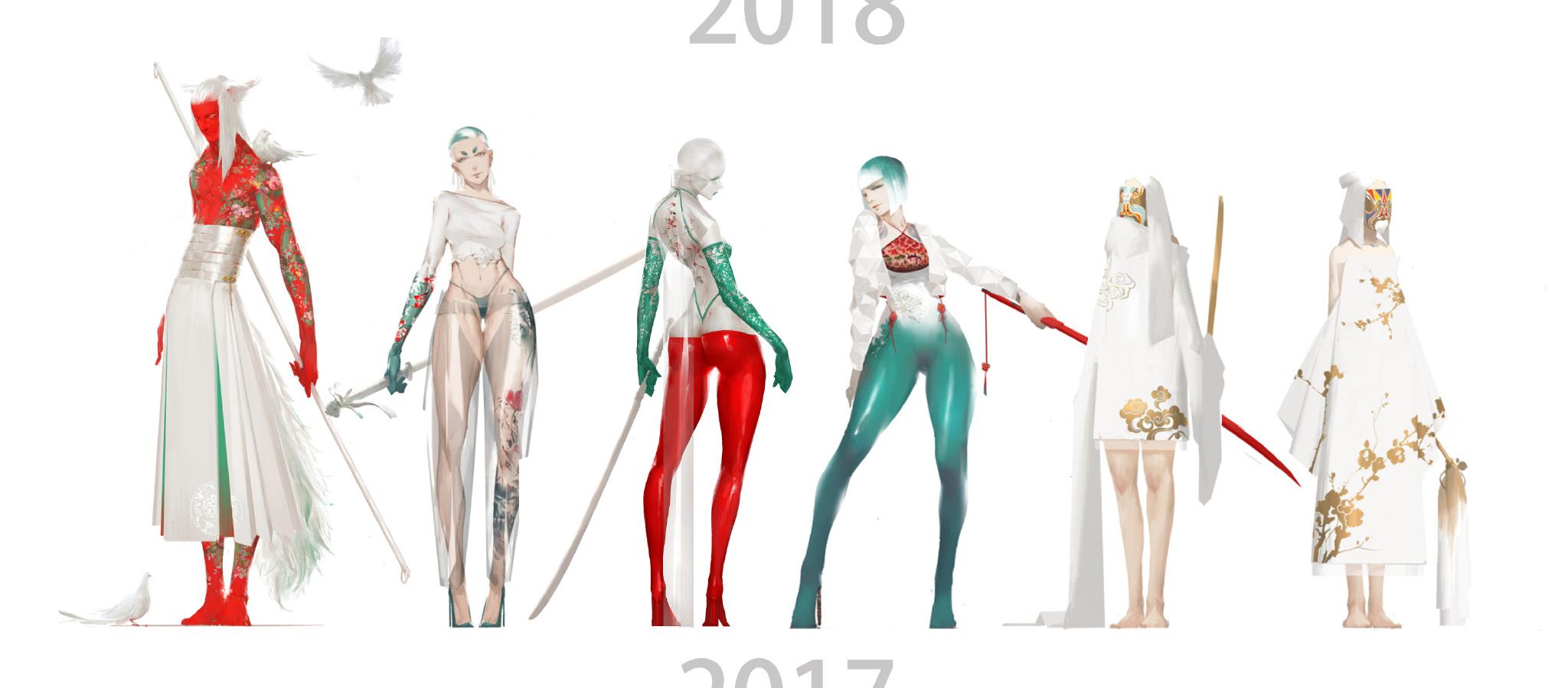 【秀上线】资深游戏角色概念设计师Amama L作品欣赏1