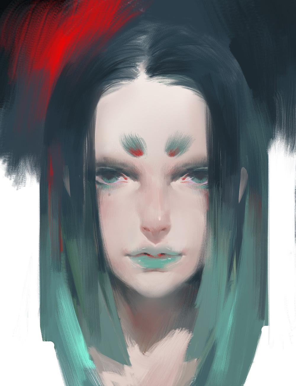 【秀上线】资深游戏角色概念设计师Amama L作品欣赏15