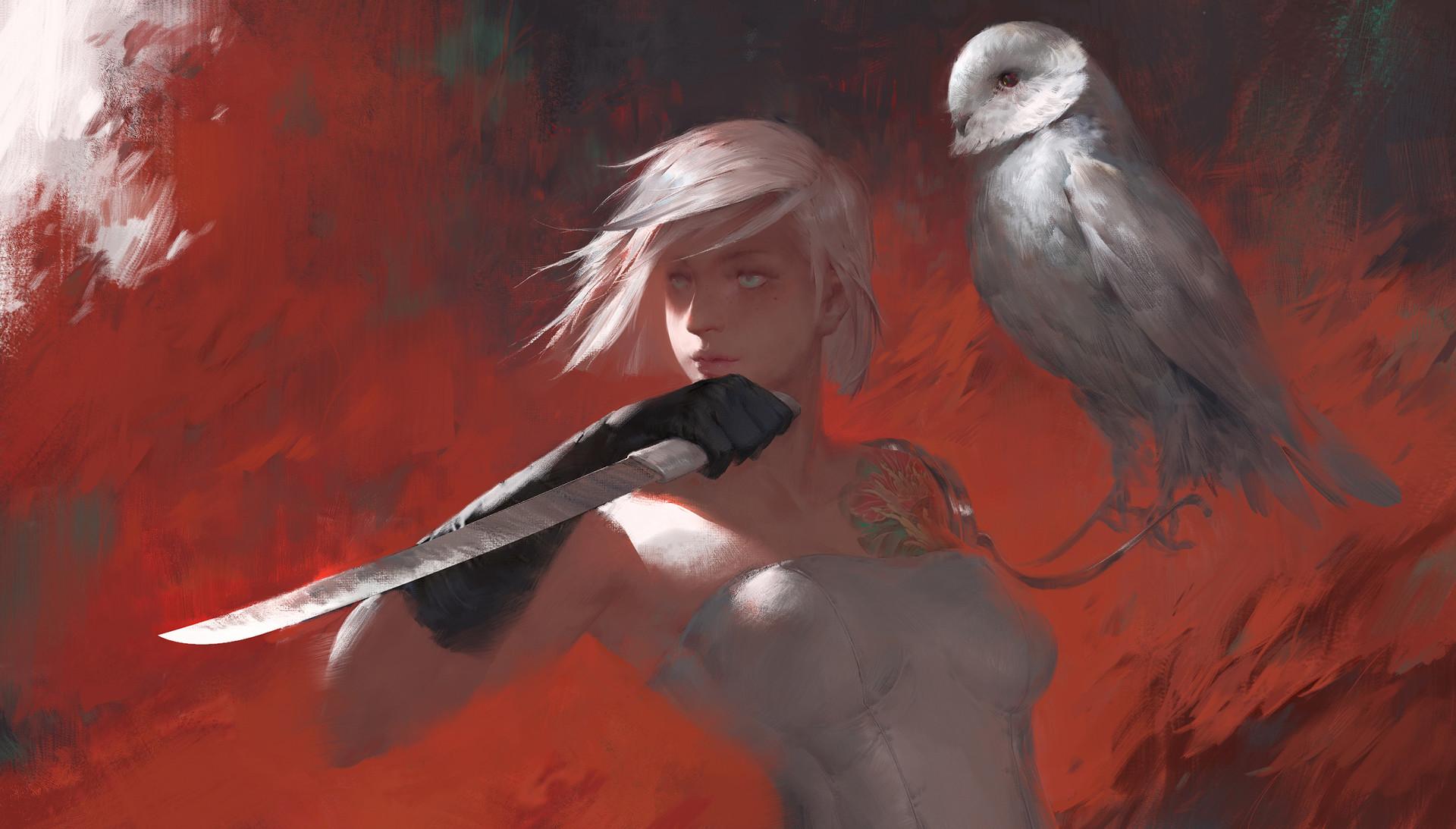 【秀上线】资深游戏角色概念设计师Amama L作品欣赏9