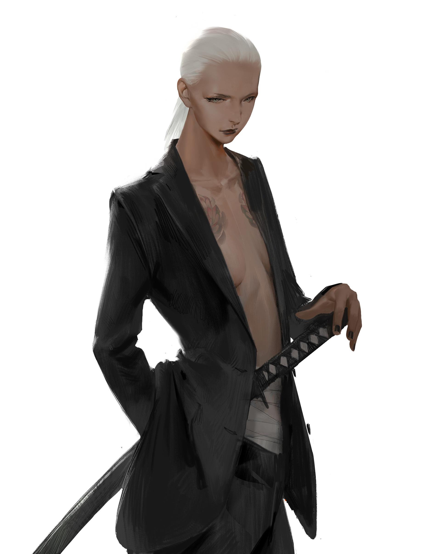 【秀上线】资深游戏角色概念设计师Amama L作品欣赏11