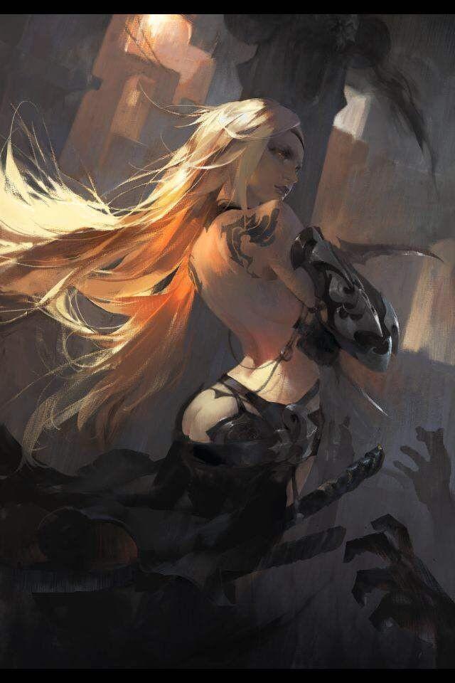 【秀上线】资深游戏角色概念设计师Amama L作品欣赏12