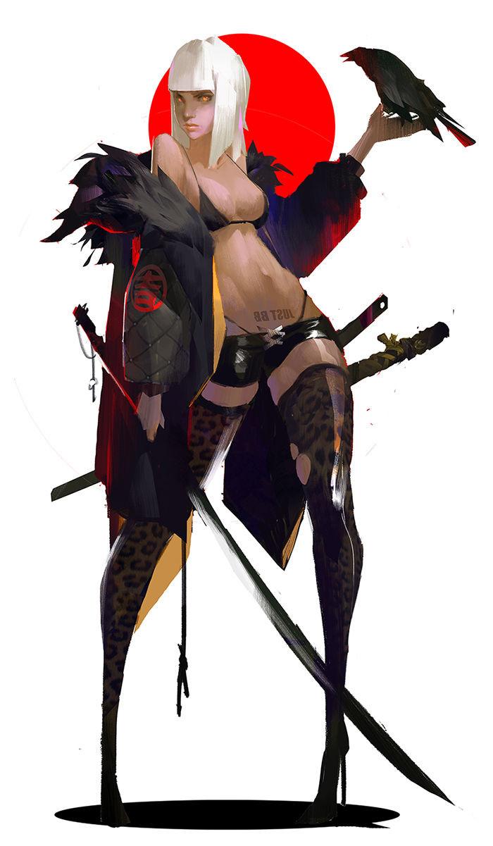 【秀上线】资深游戏角色概念设计师Amama L作品欣赏14
