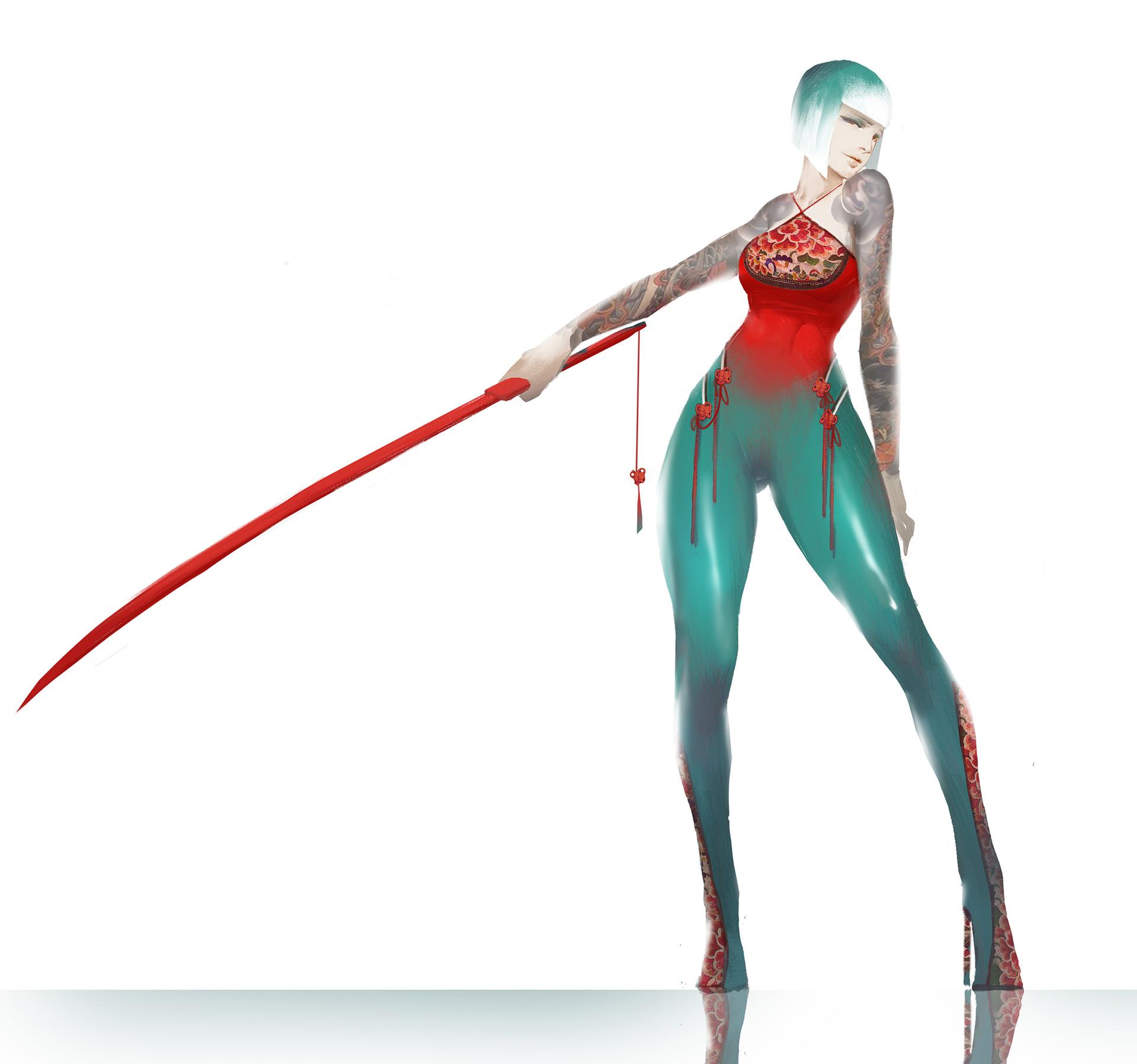 【秀上线】资深游戏角色概念设计师Amama L作品欣赏2
