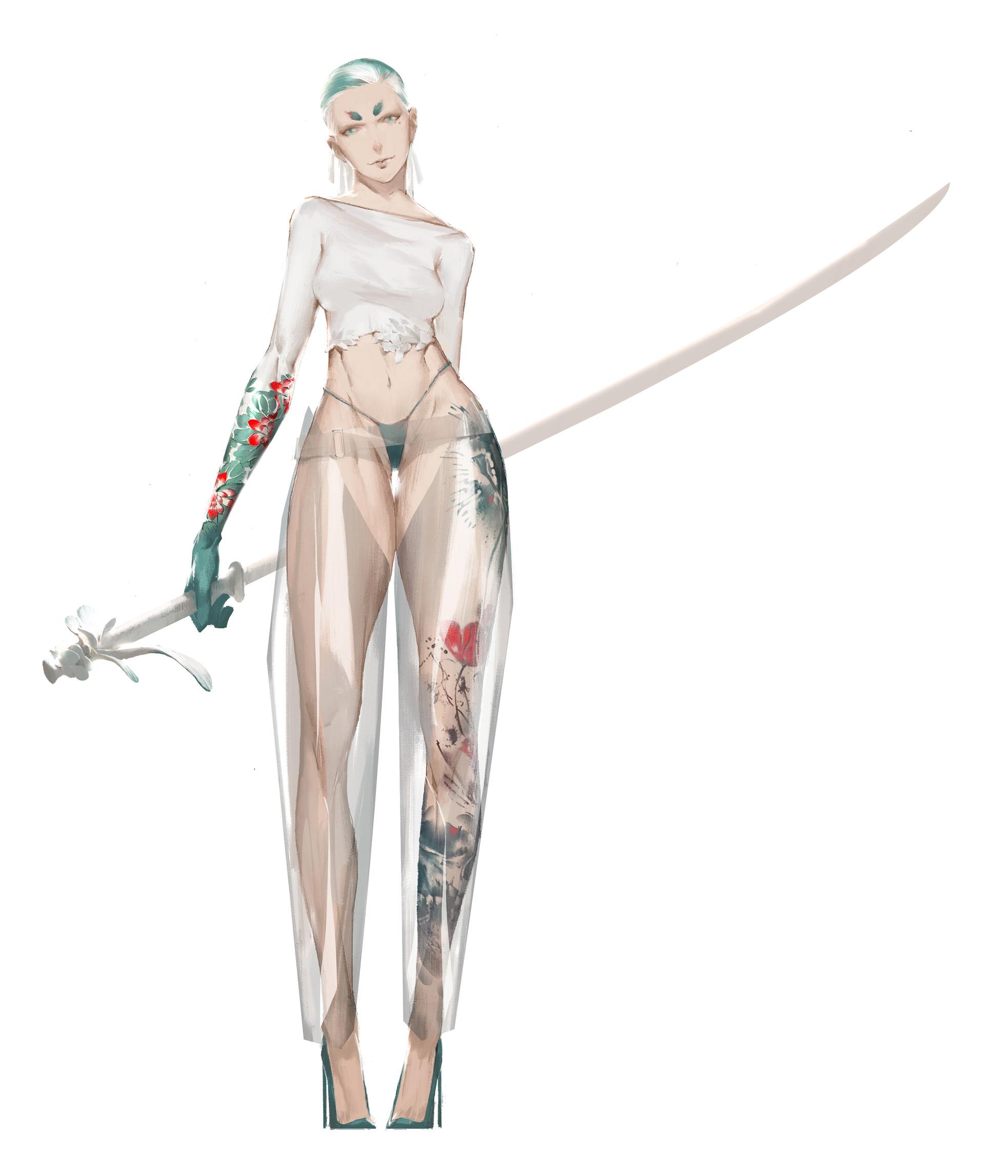 【秀上线】资深游戏角色概念设计师Amama L作品欣赏5