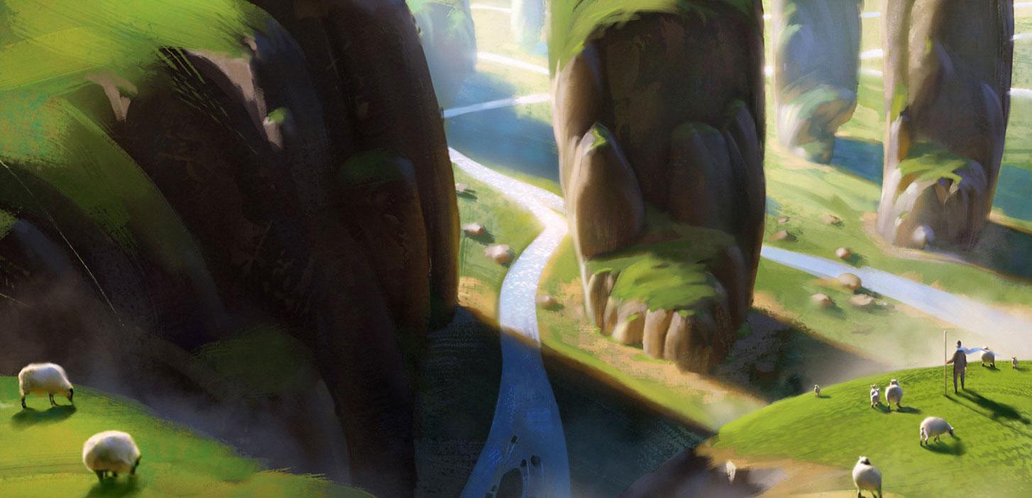 加拿大艺术家florent lebrun 恢弘场景欣赏111