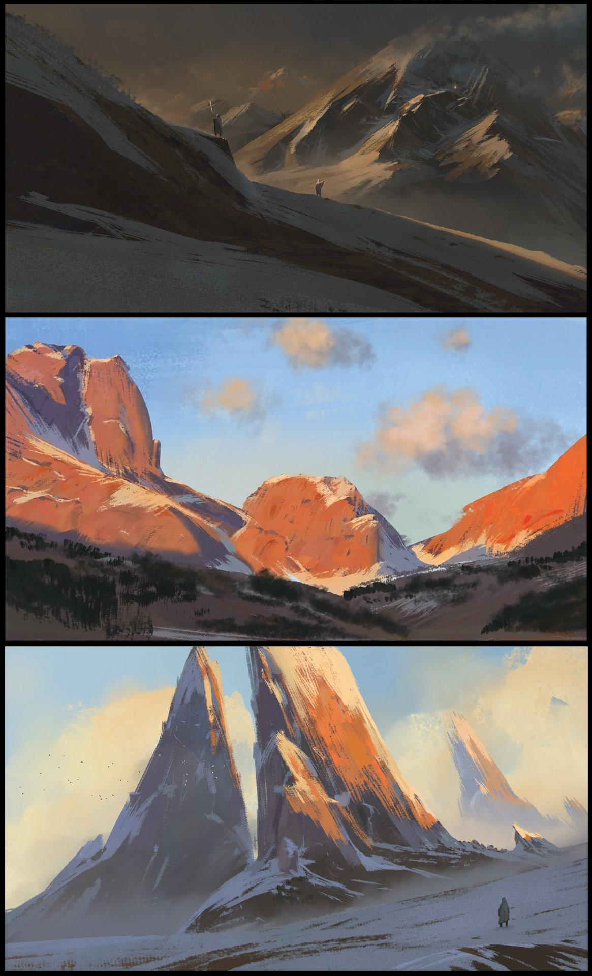 加拿大艺术家florent lebrun 恢弘场景欣赏102