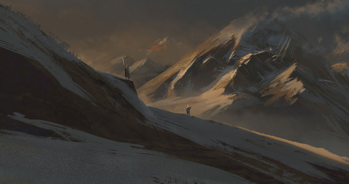 加拿大艺术家florent lebrun 恢弘场景欣赏101