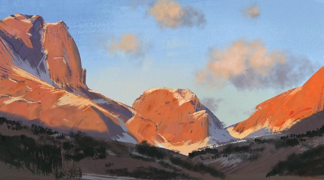 加拿大艺术家florent lebrun 恢弘场景欣赏100