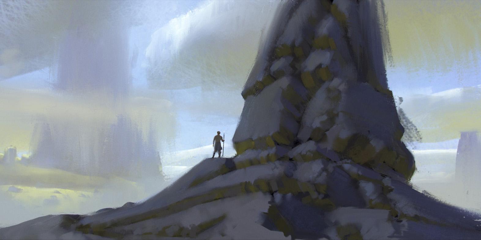 加拿大艺术家florent lebrun 恢弘场景欣赏65
