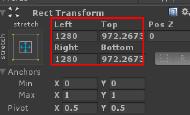 动态修改RectTransform的值