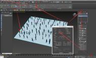 3d max populate人群导出fbx到unity3d