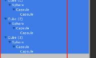 Unity3D中Hierarche窗口组件和Inspector窗口组件快速展开折叠