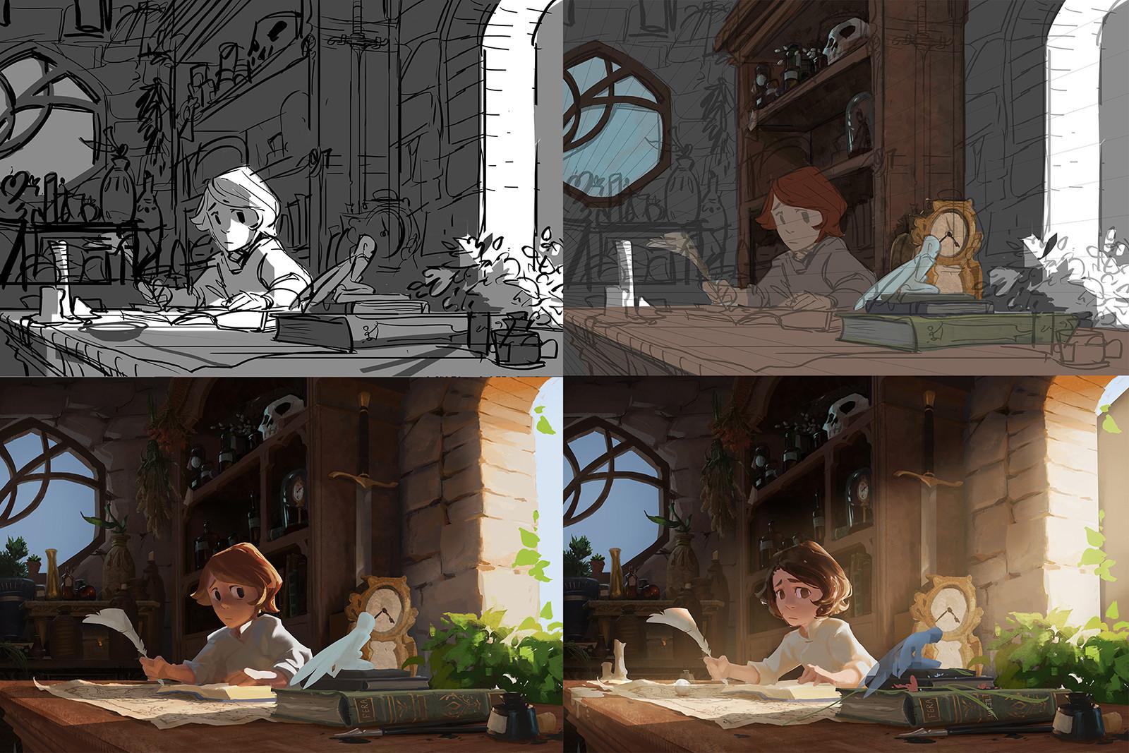 加拿大插画家Vanessa Palmer作品欣赏18