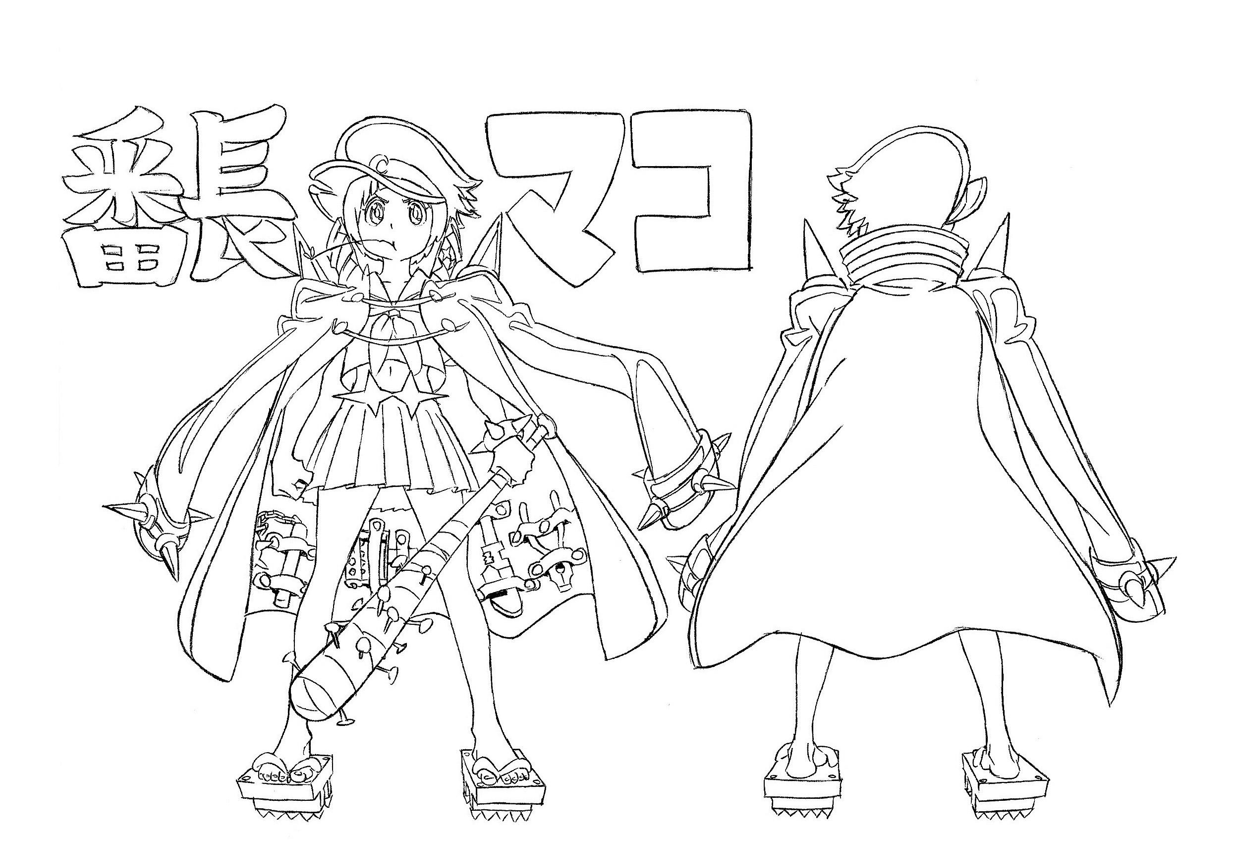 穿水手服的战斗美少女了解一下 《斩服少女:异布》角色设定赏析18