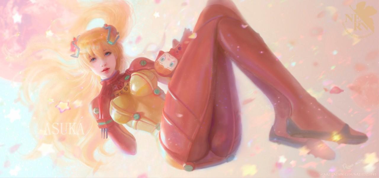 水灵的小姐姐丨概念原画师Ruoxin Zhang作品9
