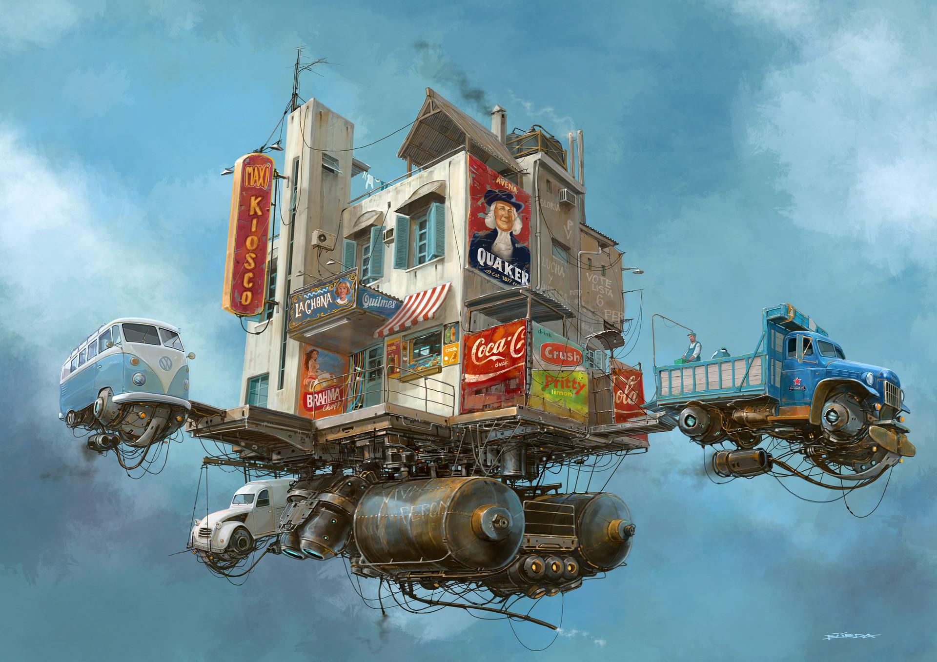 复古的未来主义 Alejandro Burdisio作品欣赏47