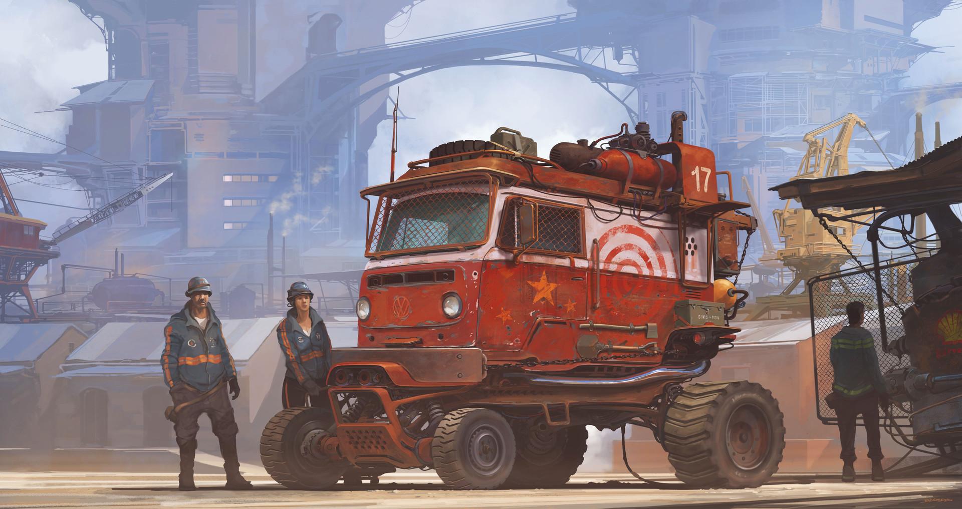 复古的未来主义 Alejandro Burdisio作品欣赏35