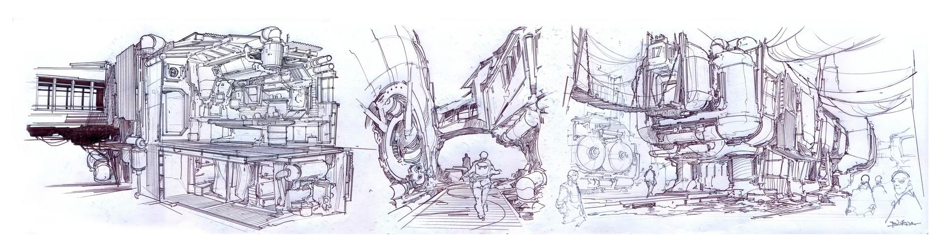 复古的未来主义 Alejandro Burdisio作品欣赏50