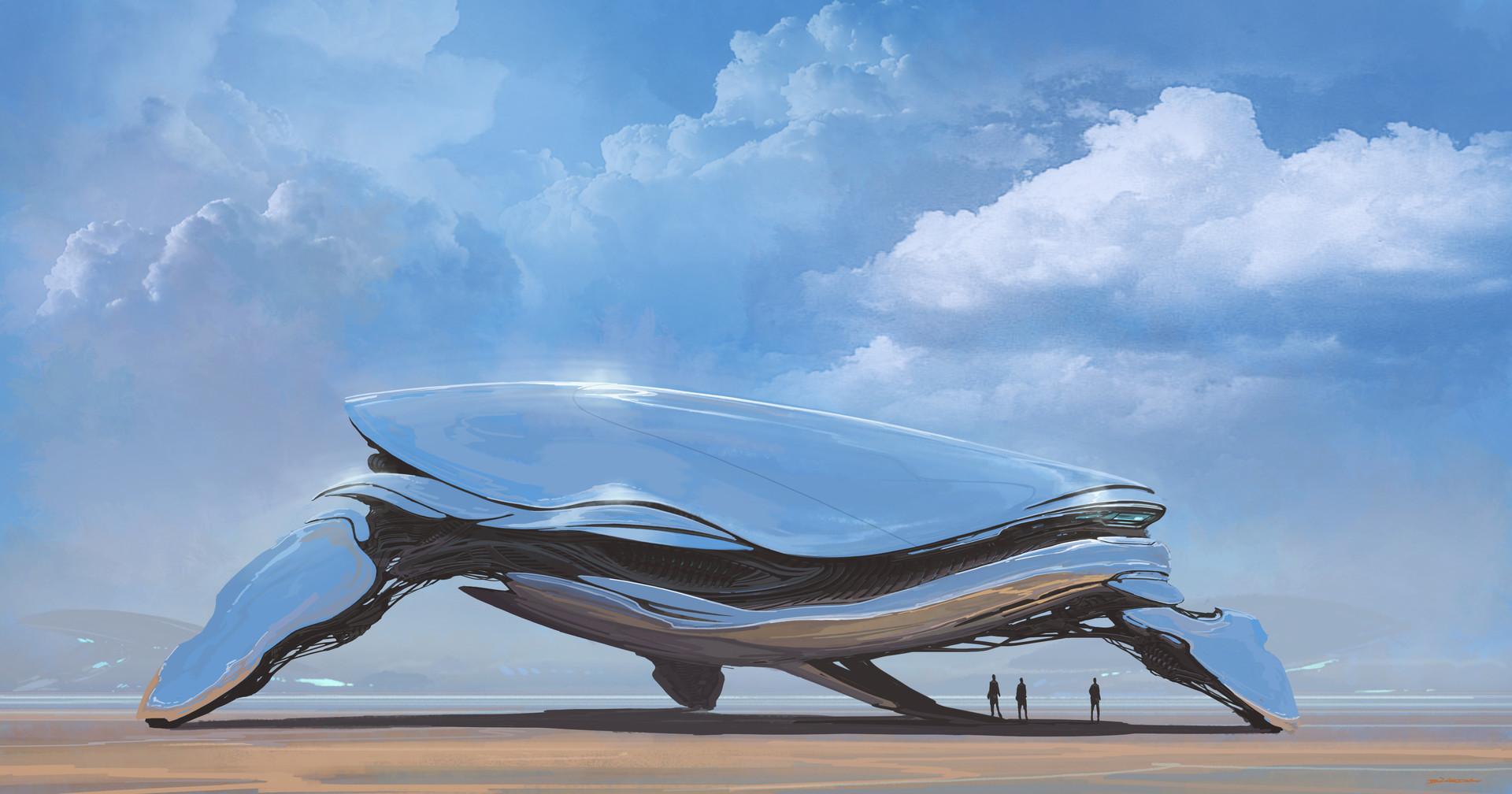 复古的未来主义 Alejandro Burdisio作品欣赏16