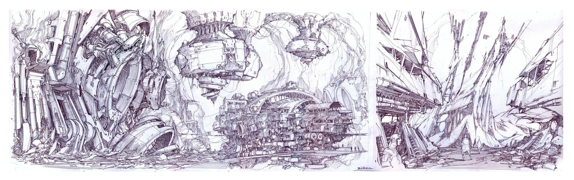 复古的未来主义 Alejandro Burdisio作品欣赏67