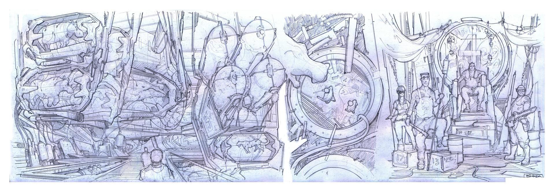 复古的未来主义 Alejandro Burdisio作品欣赏61