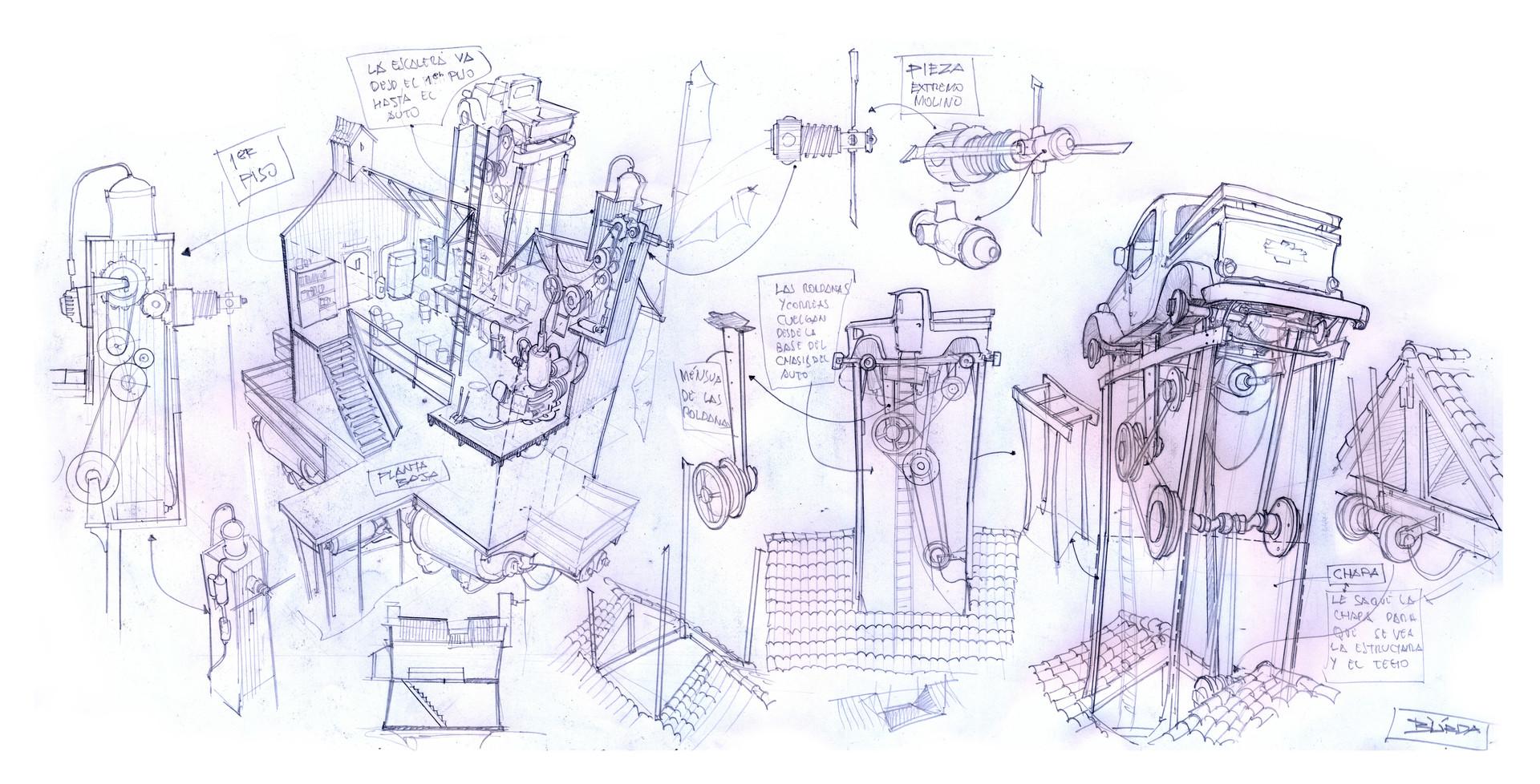 复古的未来主义 Alejandro Burdisio作品欣赏51