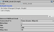 HTC Vive+Unity开发实现手柄旋转物体(VRTK版)
