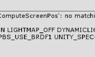 Unity shader TRANSFER_VERTEX_TO_FRAGMENT 宏的一个小细节
