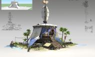 杜震-单体建筑设计《匈奴行营》超详细步骤
