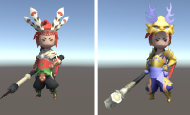 解读unity3d角色换装