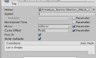 Unity动画系统之状态机面板