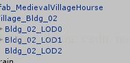 Unity关于层级细节(LOD)的使用