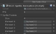 Unity3d UGUI序列帧动画