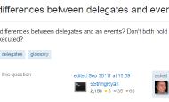 Delegate和Event有什么区别?