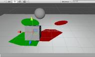 Untiy 3d ShaderLab平面阴影(二) 点光源对平面的投影