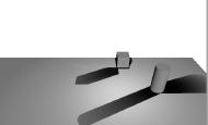 Untiy 3d ShaderLab平面阴影(三) 点光源对平面的投影