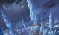 杜震—科幻场景气氛图《极寒之星》