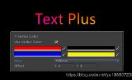 UGUI Text组件扩展