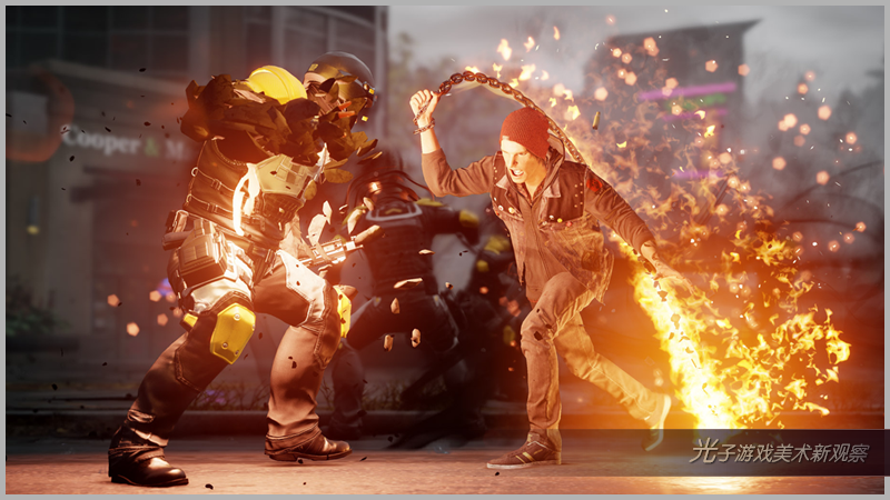 Art directing effects for inFAMOUS Second Son0