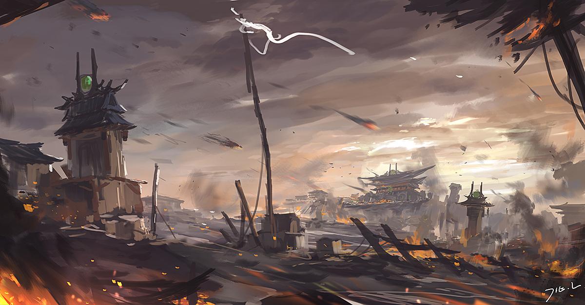 东方之美 百看不厌的中国风原画欣赏7