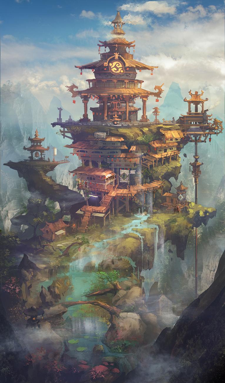 东方之美 百看不厌的中国风原画欣赏6