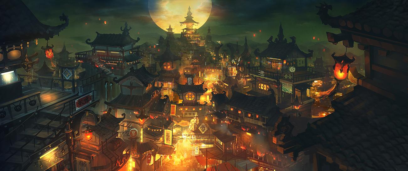 东方之美 百看不厌的中国风原画欣赏5