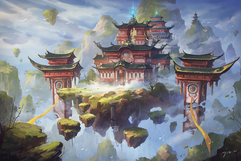 东方之美 百看不厌的中国风原画欣赏3